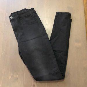 H&M super skinny high waist jeans